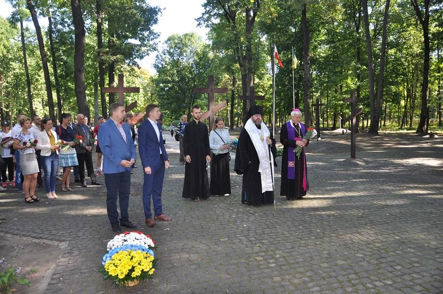 Харківський єпископ УПЦ КП взяв участь у заходах, присвячених 78-й річниці радянської агресії проти Польщі
