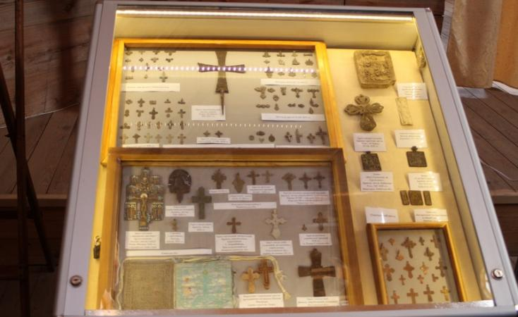 В Софии Киевской открылась выставка артефактов «Христианское наследие нашей земли»