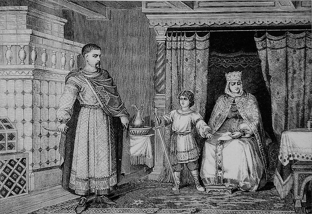 Яку державу створив князь Володимир?
