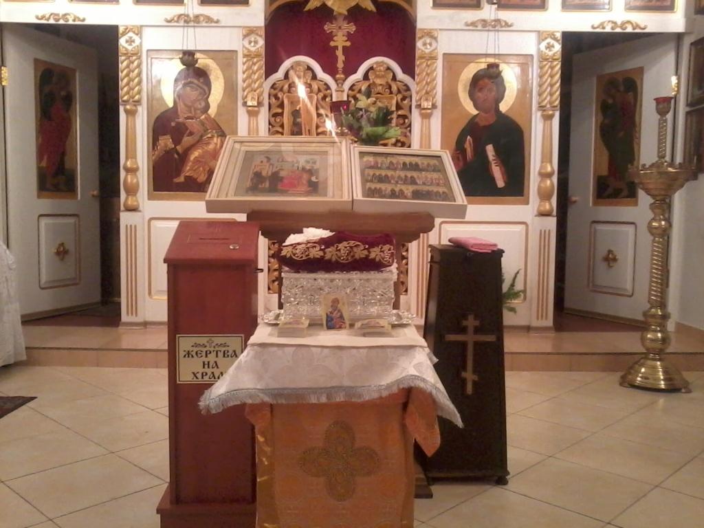 Богослужения в храме Спиридона Тримифунтского в Минске