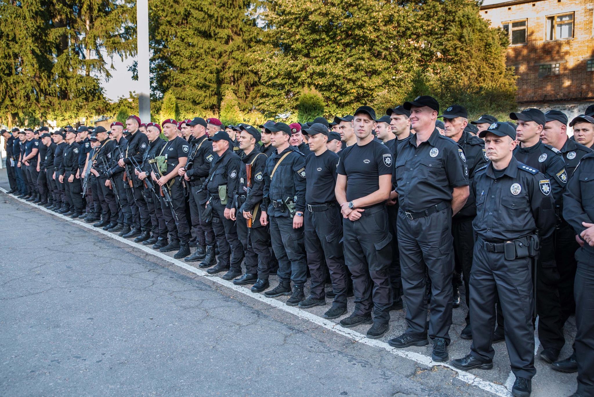 В Умані безпеку під час святкування Рош-Га-Шана забезпечують понад 500 поліцейських