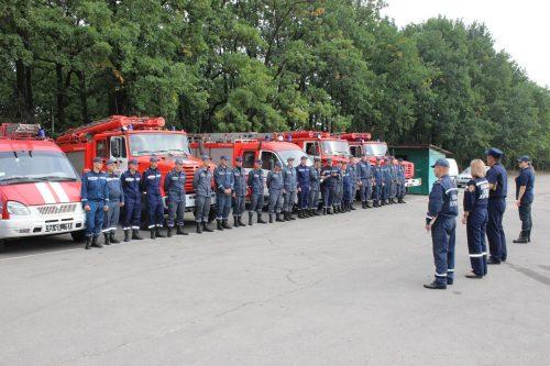 В Умані пожежники тренувалися рятувати хасидів