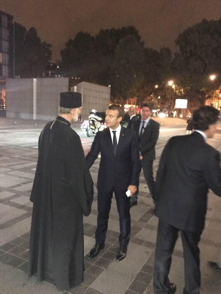 Президент Франції зустрівся з єпископом УГКЦ Борисом (Ґудзяком)