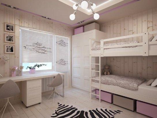 Детская комната для двоих детей: фото и варианты планировки