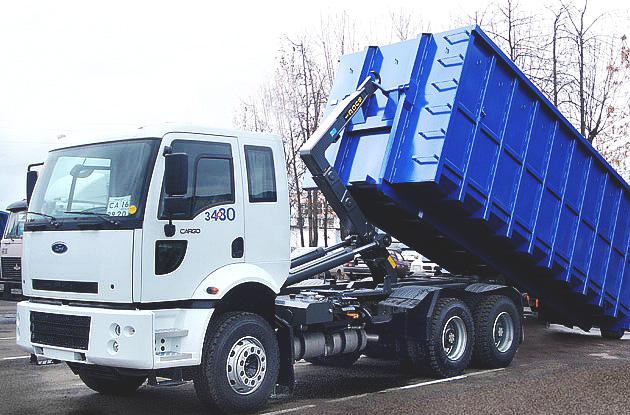 Организация вывоза мусора контейнером