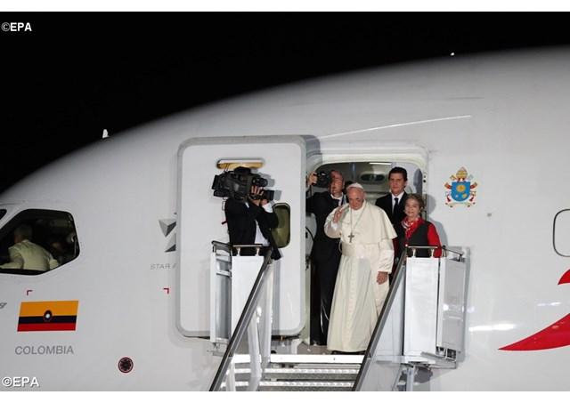 Папа дав колумбійцям настанову