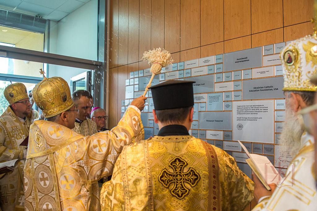 Центр Митрополита Шептицького у Львові урочисто відкритий і чекає ідейних людей