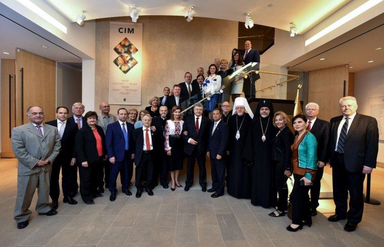 Президент у США зустрівся з лідерами української громади, серед яких були й єрархи УПЦ в США