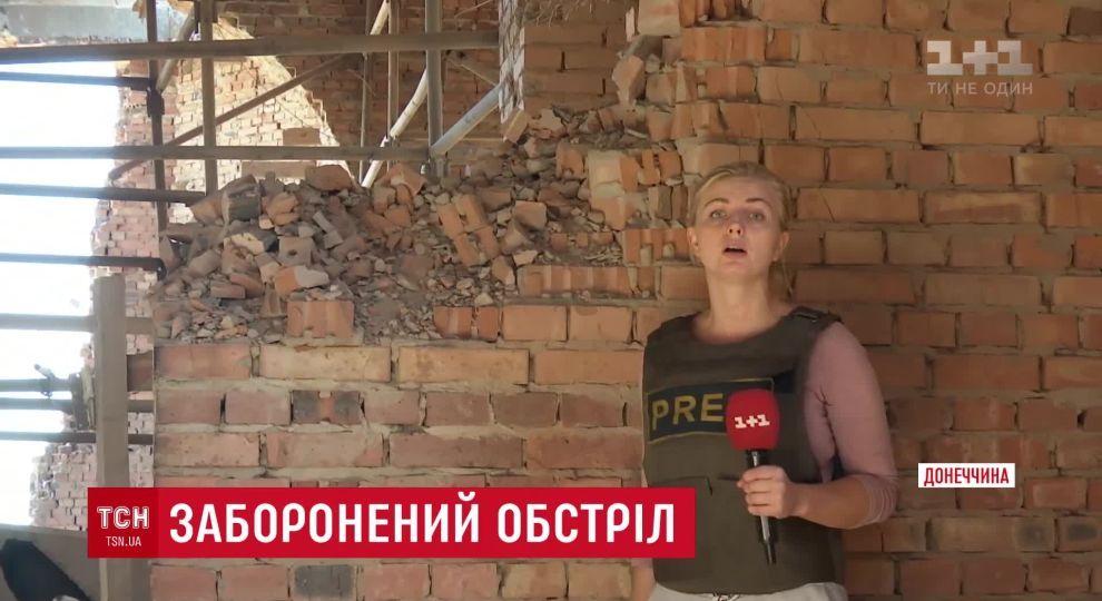 У селищі Піски окупанти методично добивають церкву танками, - ЗМІ