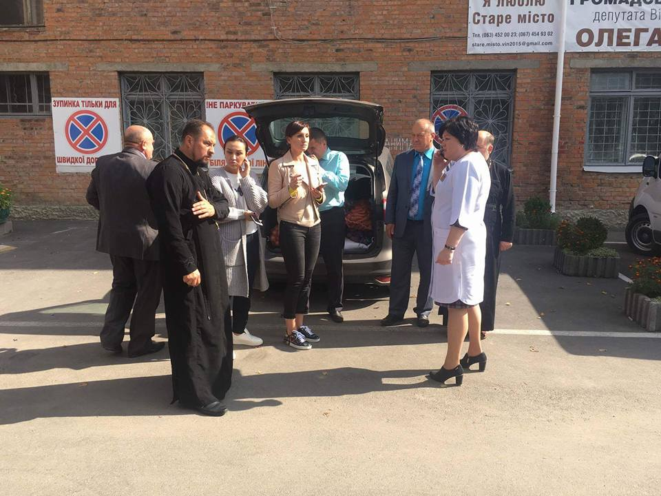 Вінницька єпархія УПЦ (МП) опікується евакуйованими з Калинівки