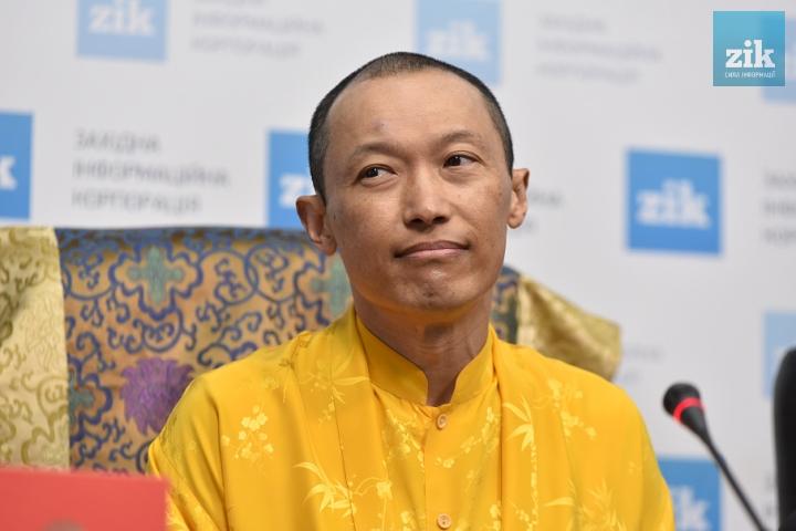 До Львова приїхав лідер міжнародної асоціації буддистів
