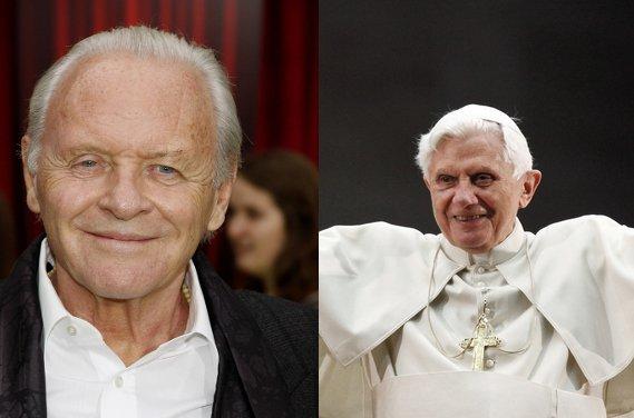 Відомі актори зіграють ролі Папи Франциска  і Папи Бенедиката у новому фільмі «Папа»