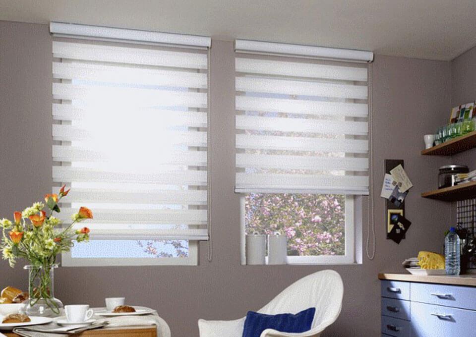 Рулонные шторы День-Ночь- практичный и удобный атрибут комфорта