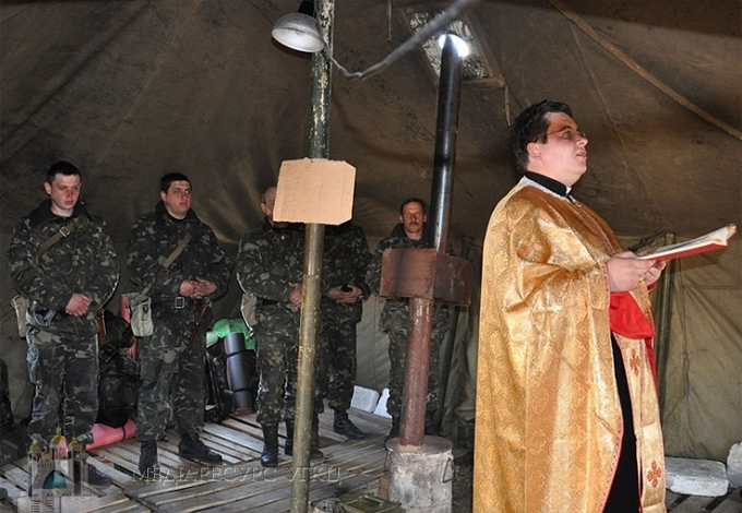Про нові реалії військового капеланства доповів на Синоді  головний капелан УГКЦ