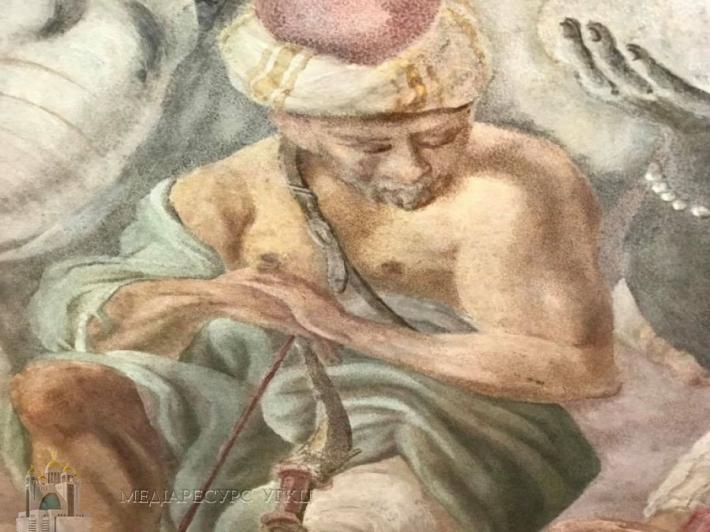 Частину відреставрованих фресок Гарнізонного храму у Львові вже можна буде побачити у жовтні