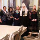 Патріах Філарет нагородив медалями російських добровольців, які воювали за Україну