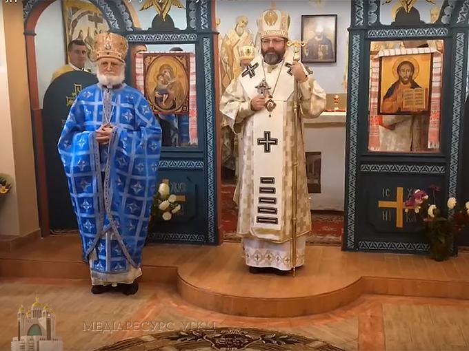 Вперше за столітню історію глава УГКЦ відслужив літургію в столиці Білорусі