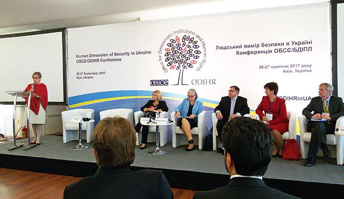 Учасники конференції ОБСЄ проаналізували релігійну ситуацію в Україні