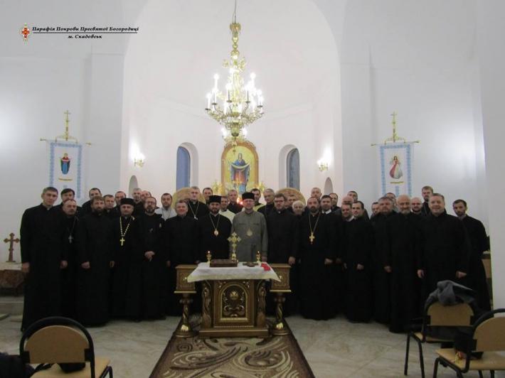 Священикам Одеського і Кримського екзархатів УГКЦ проводять курси про сповідництво та проповідництво