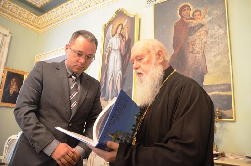 Патріарх Філарет і перший секретар Посольства Канади в Україні говорили про діаспору та опір російській агресії