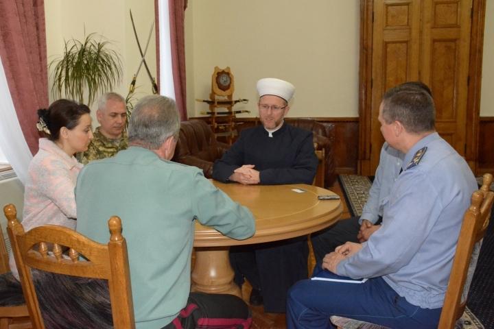 Муфтій розповів про напрямки роботи Управління військового капеланства мусульман України