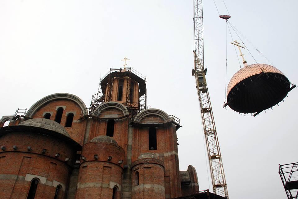 У різних регіонах завершується будівництво нових храмів УПЦ