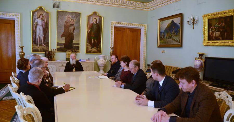 Глава УПЦ КП обговорив з релігійними та громадськими діячами США та України широке коло питань