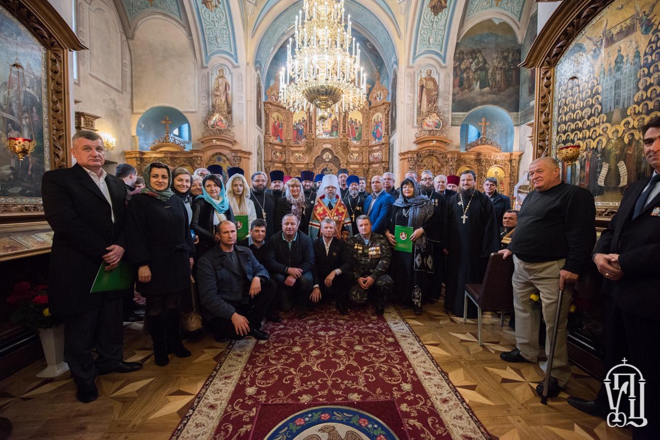 УПЦ нагородила священиків, волонтерів та військових, які залучені в зоні АТО