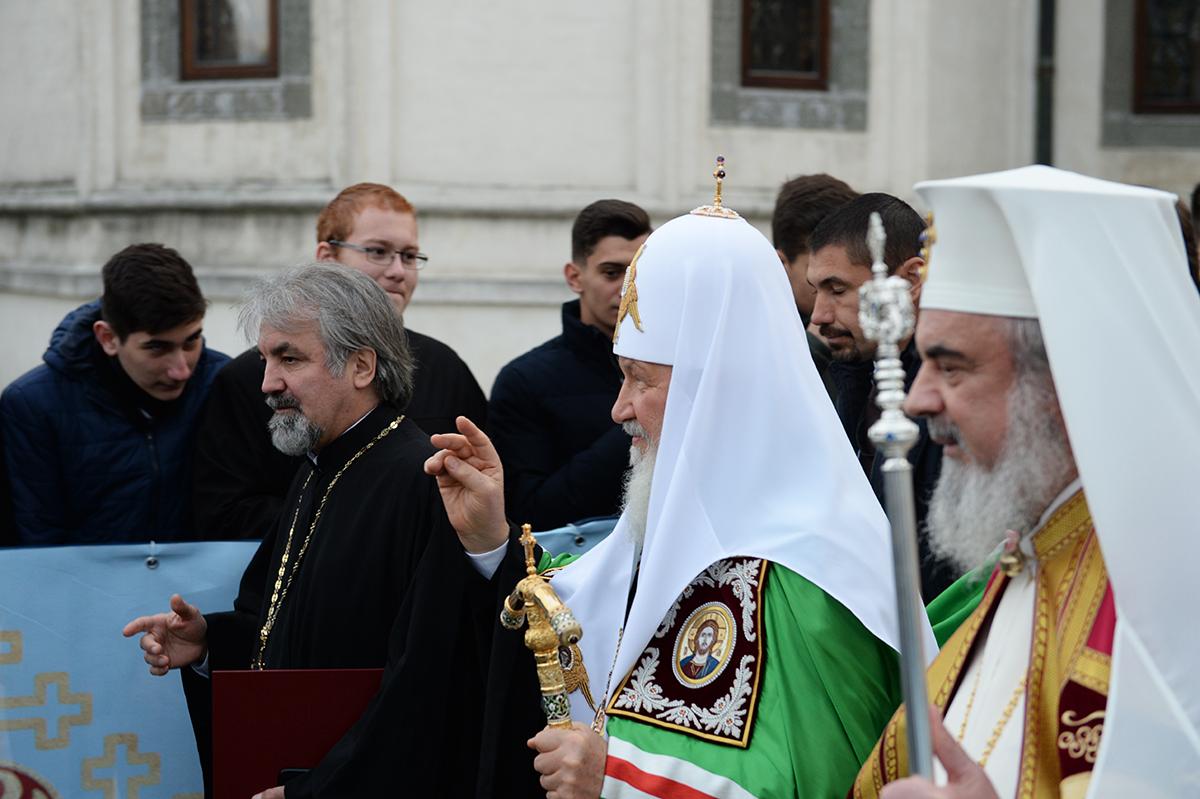 Московский патриарх рассказал румынскому о