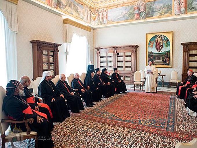 Папа Франциск зустрівся з Главами Східних Католицьких Церков