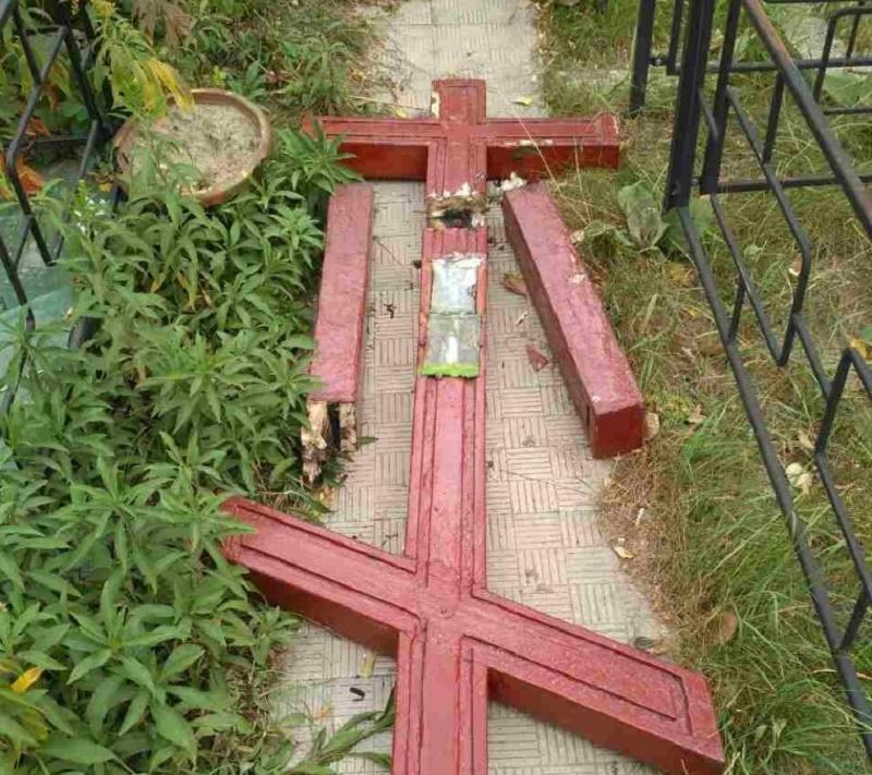 У Харкові осквернили могилу православного священномученика