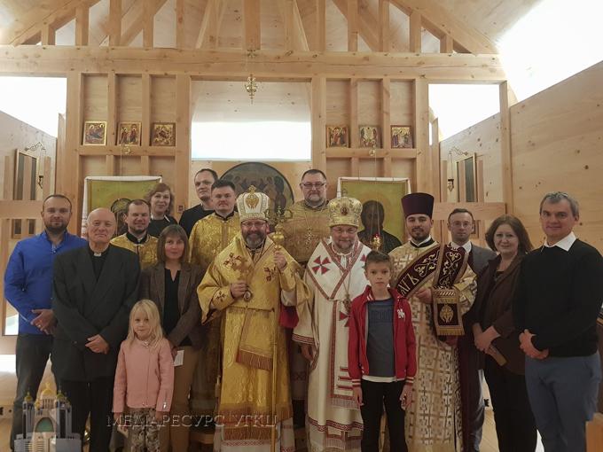 Патріарх УГКЦ у Лондоні зустрівся з білоруськими греко-католиками