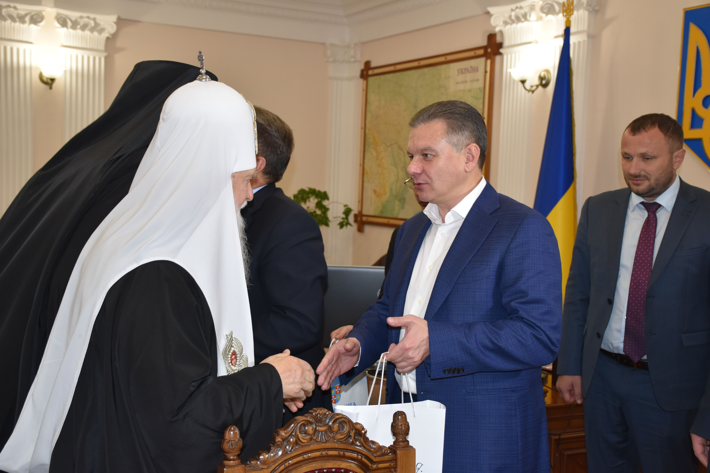 Вінницю відвідав Патріарх Київський і всієї Руси-України Філарет