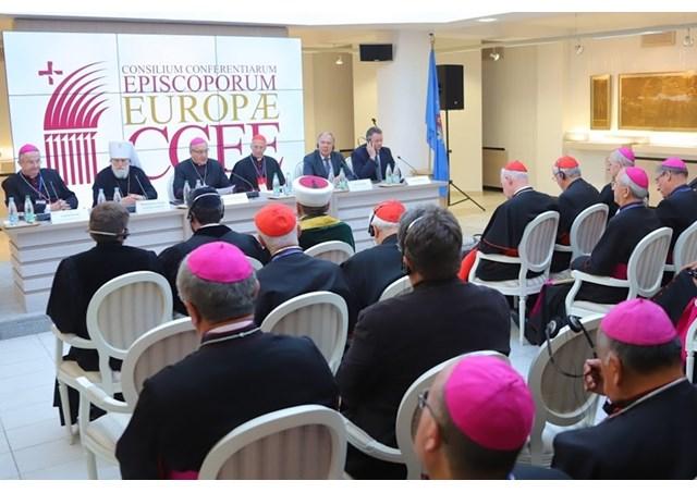 Три єрархи з України взяли участь у зустрічі Ради Єпископських Конференцій Європи у Мінську