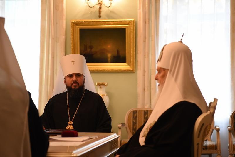 УПЦ КП підтримує «релігійні» законопроекти, - рішення Синоду