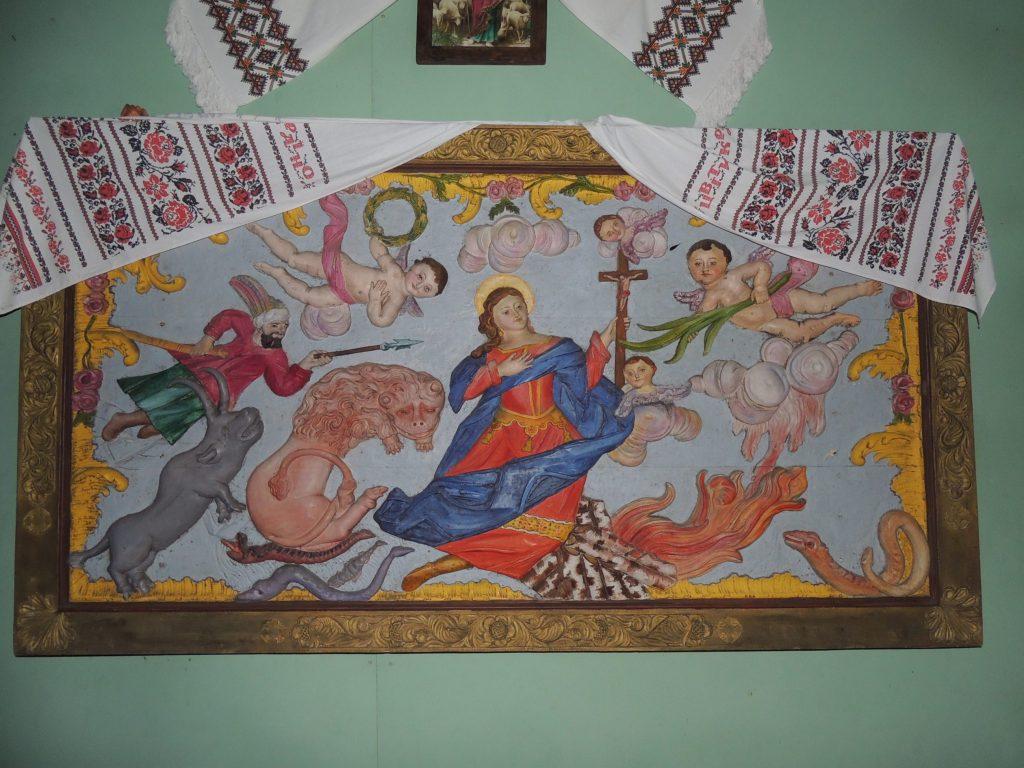 На Львівщині з церкви вкрали давню незвичну ікону