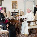 Апостольський нунцій поінформував Папу про політичну, церковну та екуменічну ситуацію в Україні