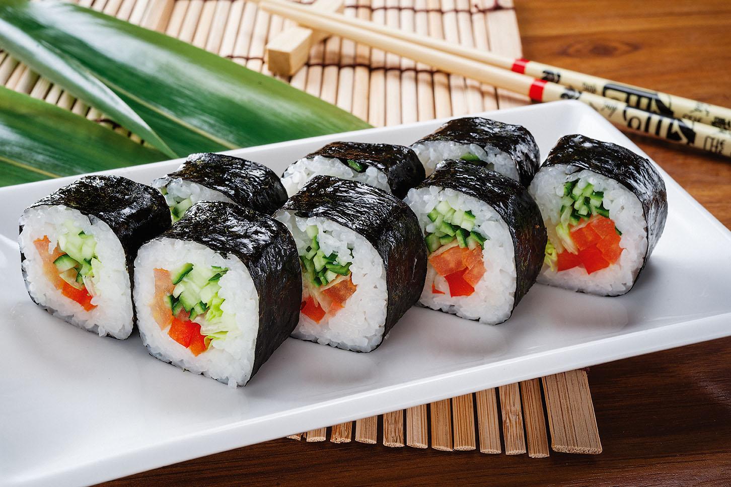 Быстрая доставка вкусных роллов и суши