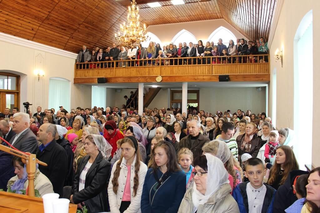 На Рівненщині баптисти святкують вікові ювелеї своїх громад