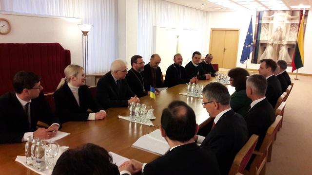 Глава УГКЦ відзначив у Литві 400-ліття Василіанського чину святого Йосафата