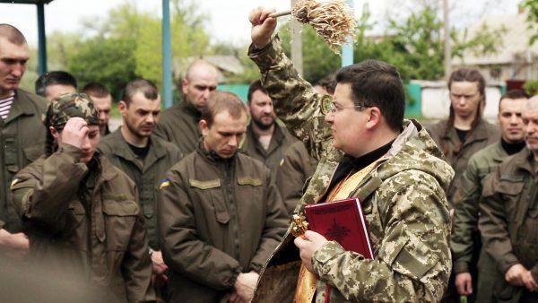 В УГКЦ діє 160 військових капеланів