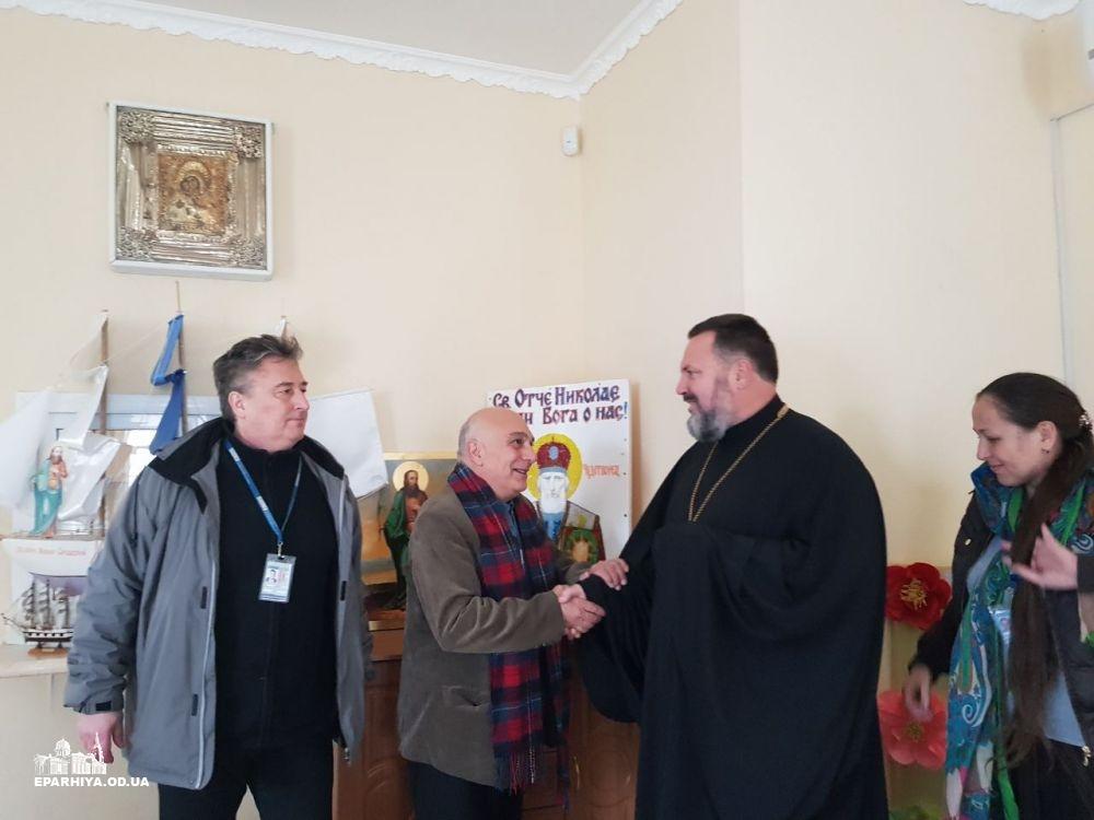 Місія ОБСЄ на Одещині втішила духовенство пограбованих храмів