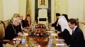 Глава РПЦ убеждает главу Англиканского сообщества в