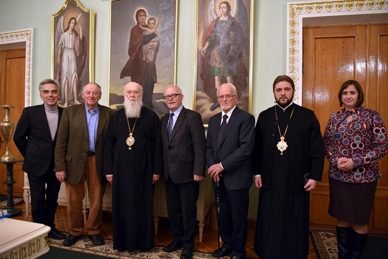 Патріарх Філарет зустрівся з німецькими протестантами і подякував їм за допомогу