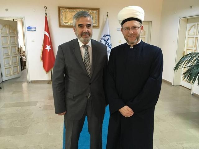 Українській і турецькій муфтії обговорили співробітництво між мусульманами двох країн