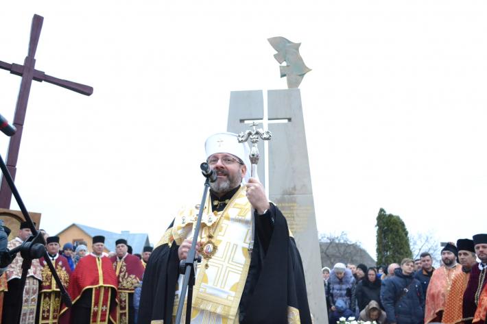 Патріарх УГКЦ освятив меморіал жертвам псевдособору 1946 року