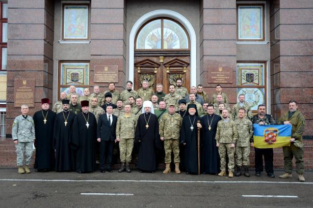 У Львові розпочався базовий курс підготовки військових капеланів