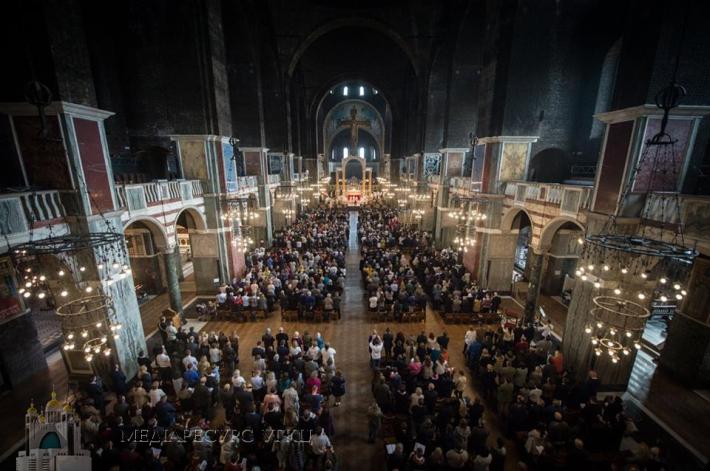 Патріарх Святослав відслужив Божественну Літургію у головному соборі католиків Англії та Валії
