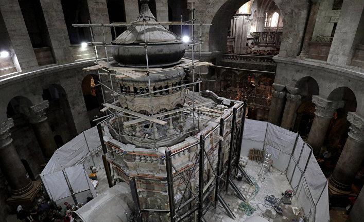 Вскрытая гробница Христа ведет к новым открытиям