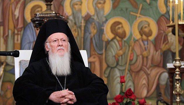 Вселенський Патріарх закликав до припинення війни й агресії в Україні